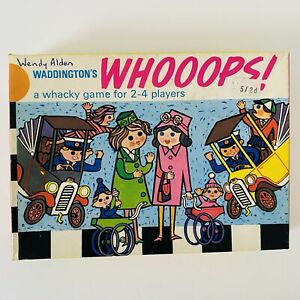 Waddingtons Whoops! 1960s Vintage board game 1963 Complete Great Condition
