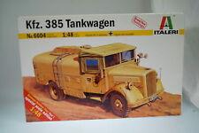 1:48 Italeri 6604 Car 385 Tank Truck, New/Boxed