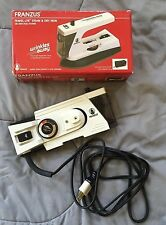 Vintage FRANZUS Steam & Dry TRAVEL IRON Compact w/ DUAL VOLTAGE Disassembles