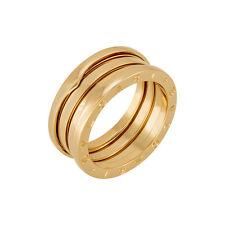 Bvlgari B.zero1 18kt Pink Gold Ring Size 59