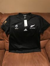 Adidas New  Zealand All Blacks Rugby World Cup Japan 2019 Jersey NWT Size 2XL