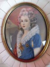 BELLA, antico miniatura__Maria-Theresia__Ritratto in miniatura __