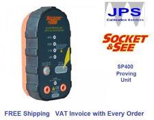 Electrical Mains Probe Proving Unit SP400 Socket & See 50 - 690V JPST018