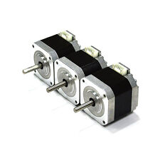 3PC Nema 17 Stepper Motor Bipolar 1.5A 57oz.in 40mm 4-lead for 3D Printer