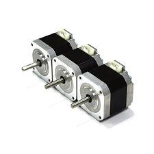 HICTOP Nema 17 Stepper Motor Bipolar 1.5A 57oz.in 40mm 4-lead for 3D Printer 3PC