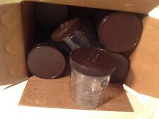 (10) BPA Free Plastic Freezer Proof Ice Cream Containers Used Clean Geloto Jars