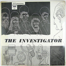 THE INVESTIGATOR A Political Satire In Documentary Form LP 1955 (SEALE/UNPLAYED)