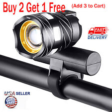 USB Rechargeable XM-L T6 LED MTB Bicycle Light Bike Front Headlight Accessories