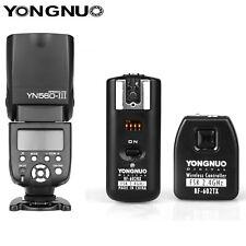Yongnuo YN560III Flash Speedlight + RF-602 2.4GHz Wireless Remote Trigger Kit
