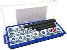 New 20 Pc Bushing Installer Remover & Inserting Set Driver Tool Kit Automotive