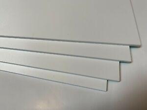 White Matt PCV Foamex Sign Board Lightweight Sign Making sheet - 3mm