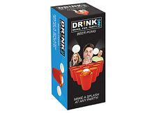 BIRRA PONG Set NUOVISSIMO GIOCO potabile novità regalo divertente Party ALCOOL AMERICA