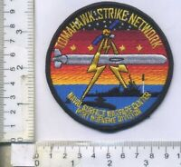 "US Navy Tactical TOMAHAWK STRIKE NETWORK TSN Cruise Missile Patch 3.5"" Round"
