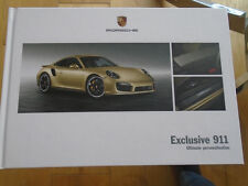 Porsche 911 exclusiva GAMA FOLLETO ABRIL 2013 hardbacked