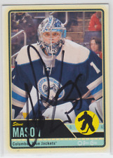 Autographed 12/13 OPC Steve Mason - Blue Jackets