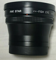 Five Star Fish Eye Lens #13577