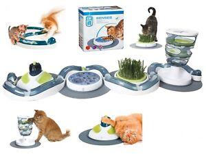 Catit Design Senses Massage Scratch Play Speed Circuit Food Maze Grass Garden
