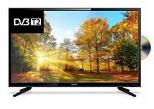 "40"" Zoll LED TV 109 cm HD Fernseher, DVB-T2, DVB-C, DVD-/ USB-Mediaplayer"