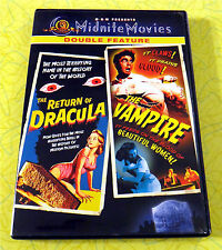 MGM Midnite Movies Double Feature - The Return of Dracula/The Vampire  DVD Movie