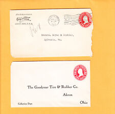 1914 Good Year Tire Rubber 1914 PSE Cover W/ Letterhead & Return G.Y. PSE Z79