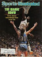 1979 4/2 Sports Illustrated magazine basketball Magic Johnson, Michigan State VG