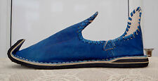 MOROCCAN ALADIN BABOUCHE SLIPPERS 6/39 BLUE