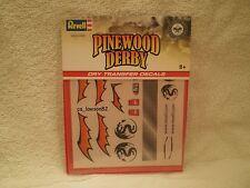 Pinewood Derby DRY TRANSFER DECALS - DECALS F RMXY9625