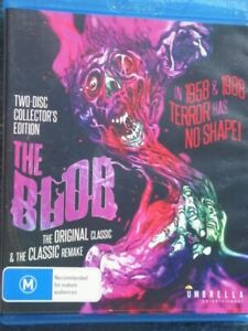 THE BLOB - The original classic and classic remake -COLLECTOR'S  EDITION-BLU-RAY