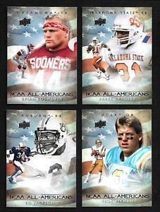 2011 Upper Deck College Football Legends All-Americans Complete 35 Card Set