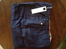 Full Circle navy linen womens trousers 28' 32L