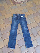 CAbi Dark Wash Low Rise Stretch Jeans Style 513    Size 2