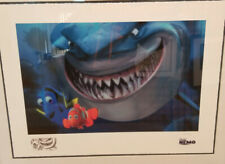 Finding Nemo- Fish Are Friends Not Food Lithograph-Dory,Marlin,Bruce