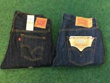 Levi's Cotton Indigo, Dark wash Mid Rise Jeans for Men