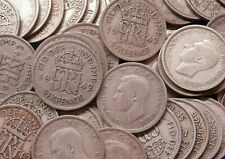 More details for 1942 george vi lucky old sixpences silver ideal for anniversaries: any quantity