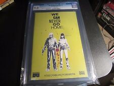 WE CAN NEVER GO HOME #1  1ST PRINT CGC 9.8 !!!!!!