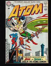 Atom #7 ~ 1st Hawkman (x-over) Team-up ~ (4.5) 1963 WH