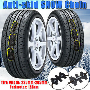 Universal Car SUV Tire Chain Anti-skid Winter Snow Ice Mud Wheel   II New J