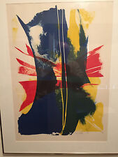 Paul Jenkins, (Untitled), Framed, low number copy of 35/75 signed and dated 1965