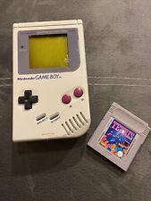 Nintendo Game Boy Classic Konsole - Grau DMG-01 Retro Spiele Konsole + Tetris