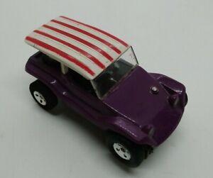 Aurora T-Jet Thunderjet purple Dune Buggy Coupe No. 1399 HO Scale Slot Car