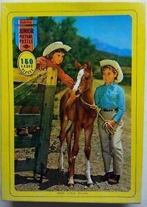 1950's THREE LITTLE FILLIES Warren BUILT-RITE Junior Picture Puzzle 150 Lg. Pcs.