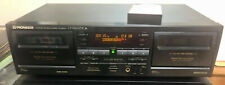 PIONEER CT-W606DR Dual Cassette Deck EXCELLENT 100% FULLY TESTED