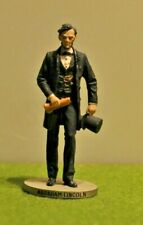 Danbury Mint Pewter By D. LaRocca Hand Painted President to scale Abraham Lincol