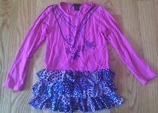 Flowers By Zoe Pink 'Love' Top Dress. Little Girls Kids Children Size S.