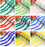 Wholesale 50pcs 6mm Cube Crystal Glass Loose Beads Fit Jewelry DIY Making
