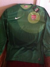 NIKE AUTHENTIC USA Green Long Sleeves Soccer/fútbol  Jersey goalkeeper NWT SZ XL