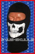 CHILD-KID YOUTH SKULL FACE SKI HOOD MASK HEAD NECK HELMET LINER COTTON USA MADE