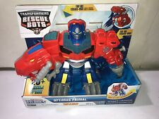 Playskool Heroes Transformers Rescue Bots - Optimus Primal - ELECTRONIC NEW