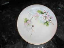 Imperial Crown China Art Studio Hand Painted Austria signed Herbert dogwood flor