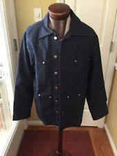 Budweiser True Music Denim Coat  Jacket 100% Cotton by Johnny Suede Medium